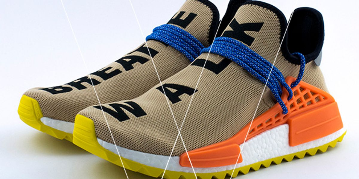 How to spot fake adidas nmd pw human race tr pale nude - B