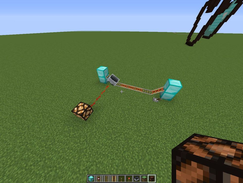 How to make a minecart/redstone timer in minecraft